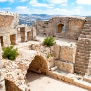 Ajloun Castle in Jordan