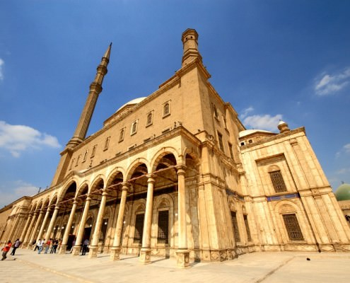 Alabaster Mosque, Side
