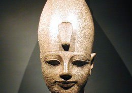 Amenhotep III. Found in the Temple of Amenhotep, Qurna