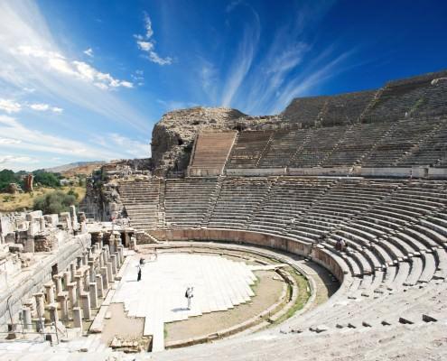 Amphitheater in Ephesus (Efes)
