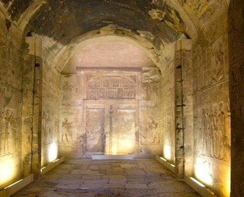 Amun Chapel, Temple of Osiris, Abydos