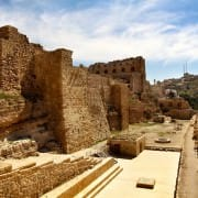 Ancient crusader castle Al Karak, Jordan