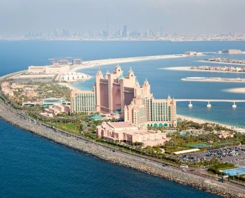 Atlantis the Palm is a luxury 5 star hotel built on Jumeirah Palm