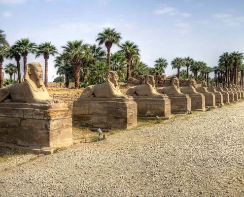 Avenue of Sphinxes, Luxor