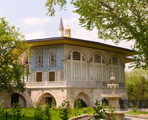 Baghdad Kiosk in the Topkapi Palace Garden