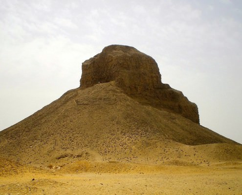 Black Pyramid of Pharaoh Amenemhat III at Dahshur