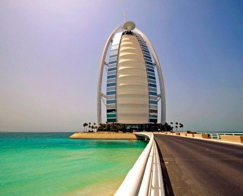 Burj al Arab is also known as the Tower of the Arabs