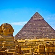 Cairo vacation packages always include a visit to the Pyramid of Khafre and the Great Sphinx in Giza
