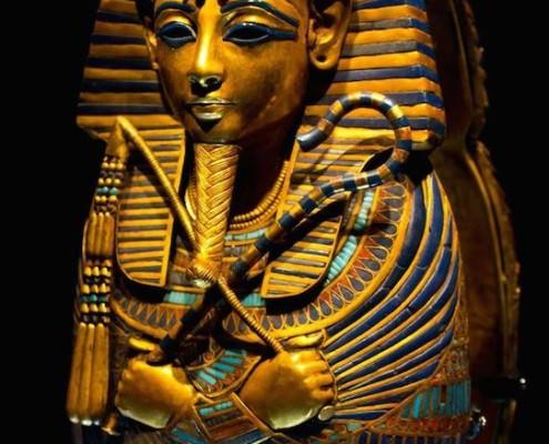 Coffinette of king Tutankhamun