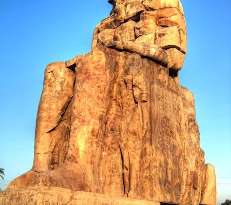 Collossi of Memnon up close