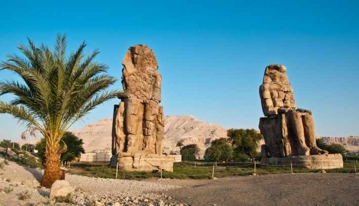 Colossi Of Memnon Guardians Of An Amazing Mortuary Temple