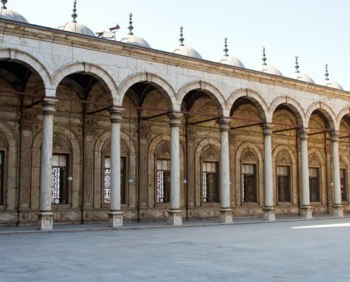 Courtyard of the Alabaster Mosque