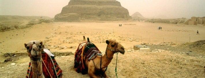 Djosers Step Pyramid in Saqqara