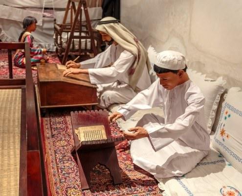 Dubai Museum is the largest historical museum in Dubai