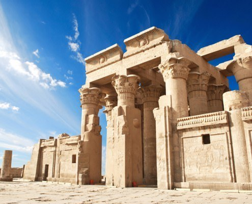 Egypt Tours from UK - Ruins of the Temple of Kom Ombo, Egypt