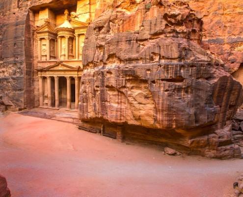 Entrance area, Petra, Jordan