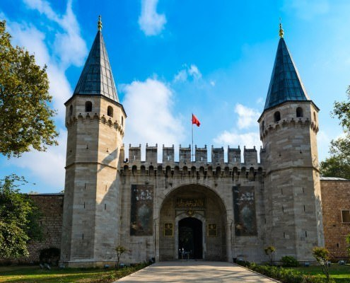 Entrance of the Topkapi Palace, Istanbul