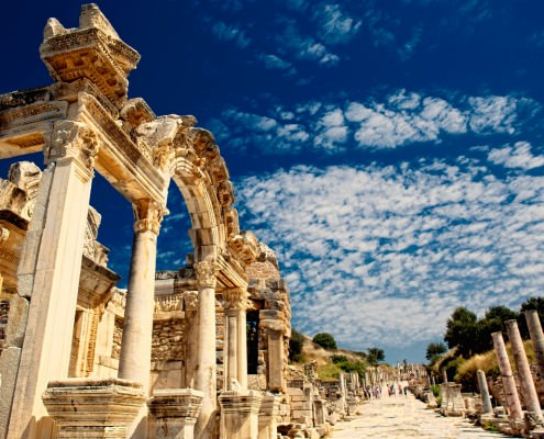 Ephesus in Izmir, Turkey
