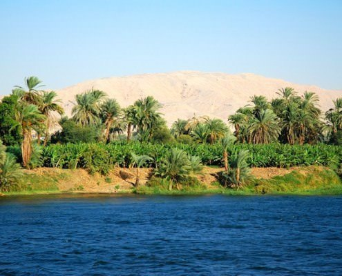 Floating along an historic river - choose Nile cruise holidays