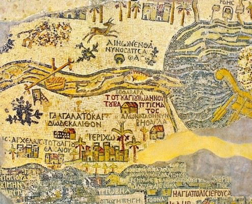 Fragment of the Map of Madaba