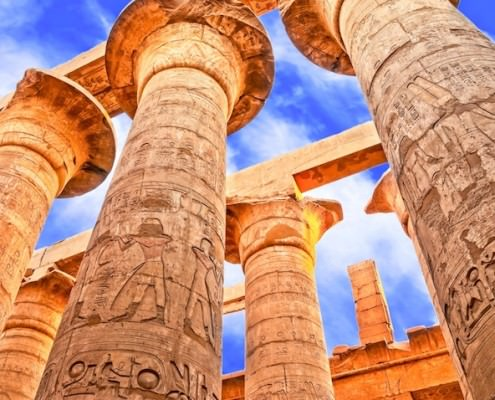 Great Hypostyle Hall, Temples of Karnak, Luxor