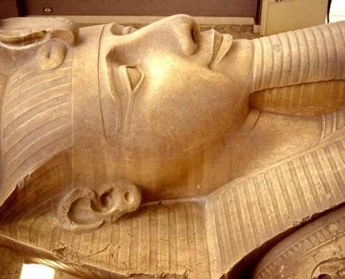 Ramses II up close