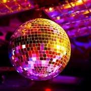 Hurghada Nightlife - Disco ball light reflection