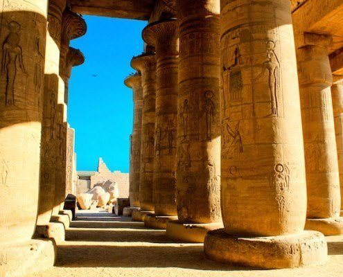 Hypostyle Hall, Ramesseum Temple
