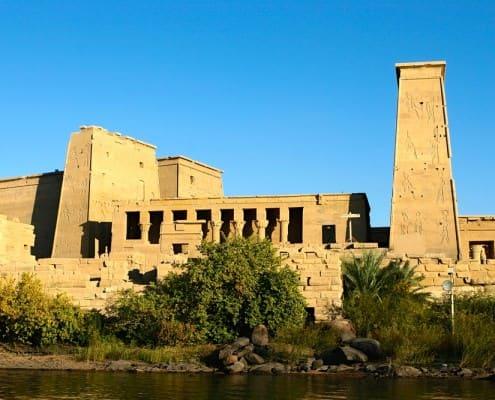 Isis Temple, Philae - Agilkia Island, Egypt