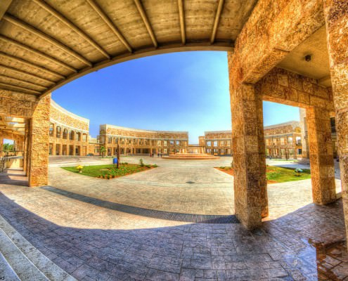 JUST University's Library - Largest library in the Middle East. Irbid, Jordan