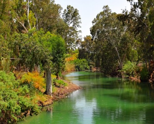 Jordan River (where Jesus was baptized)
