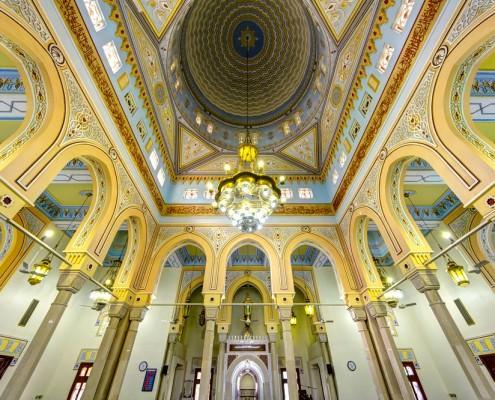 Jumeirah Grand Mosque Interior