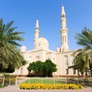 Jumeirah Mosque in Dubai, United Arab Emirates