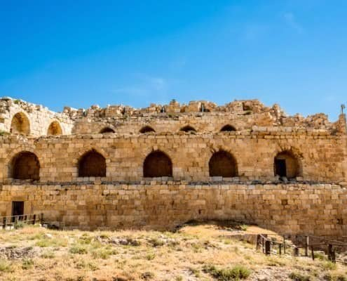 Karak Castle - initially called Crac Des Moabites