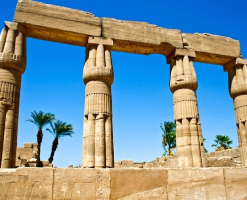 Karnak Temple is a must-see on luxury vacations in Egypt