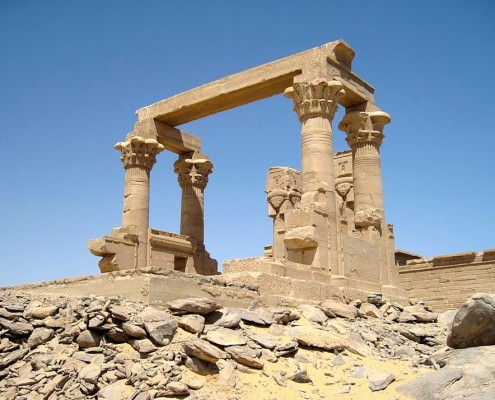 Kiosk of Kertassi, Lake Nasser