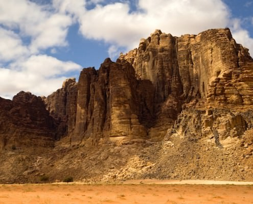 Lawrence's Spring, Wadi Rum in Jordan