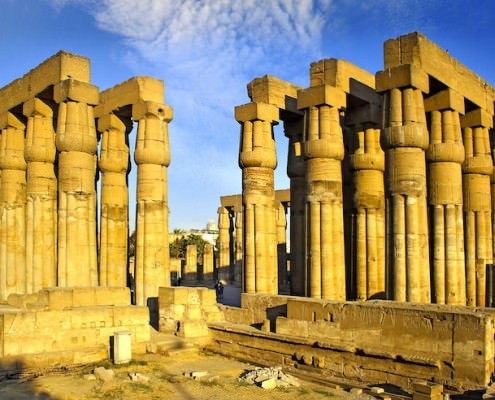 Luxor Temple, East Bank