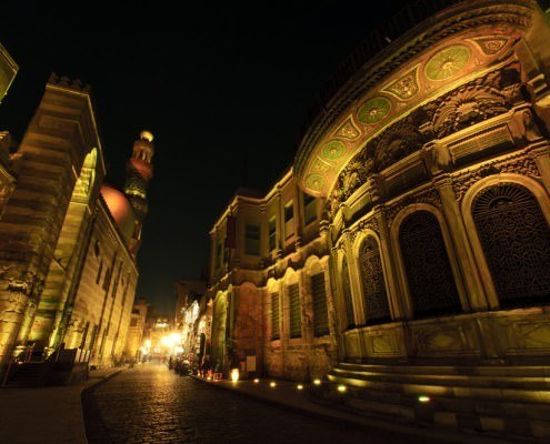 Medieval Cairo by Night