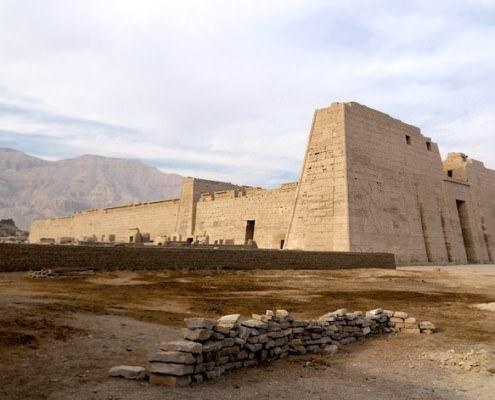 Medinet Habu - Mortuary Temple Of Ramesses III