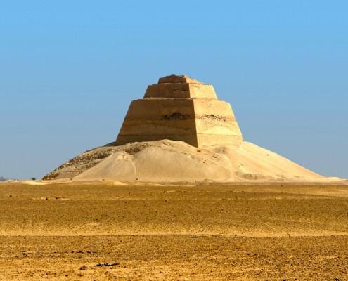 Meidum Pyramid in Egypt
