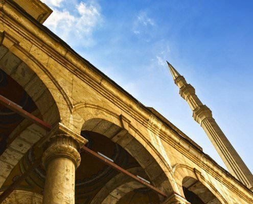 Minaret of the Mohamed Ali Mosque, Cairo