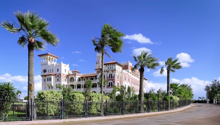 Montaza Palace (Salamlek Palace) in Alexandria, Egypt
