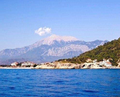 Mount Olympos in Turkey