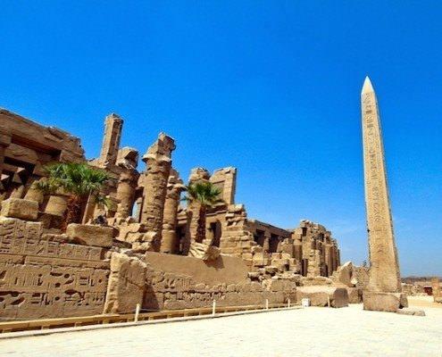 Obelisk in Karnak Temple, Luxor - A Highlight of Any Egypt Tour