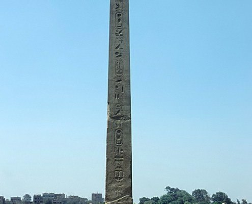 Obelisk of Senusret I, Al-Matariyyah, Cairo