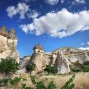Monks Valley in Cappadocia, Turkey