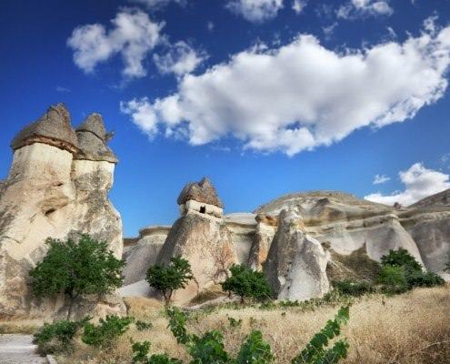 Monks Valley in Cappadocia, Turkey