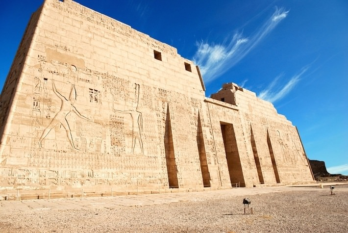 Image result for medinet habu