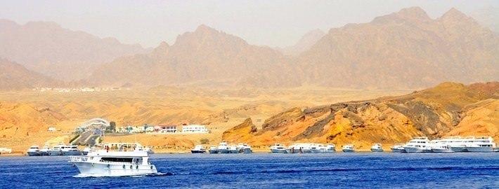 Red Sea Coastline in Egypt